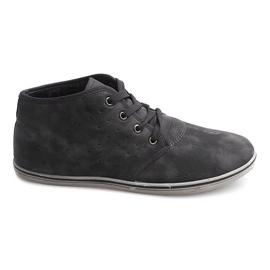 Grigio Sneakers alte alla moda TL354 grigie