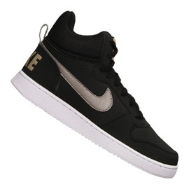 Nero Scarpe Nike Court Borough Mid M 838938-005
