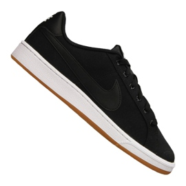 Nero Scarpe Nike Court Royale Canvas M AA2156-001