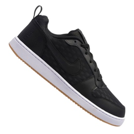 Nero Scarpe Nike Court Borough Low Se M 916760-003