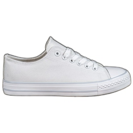SHELOVET bianco Scarpe da ginnastica bianche