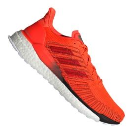 Arancione Scarpe da corsa Adidas Solar Boost 19 M G28462