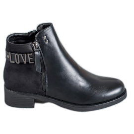 Ideal Shoes nero Stivaletti neri