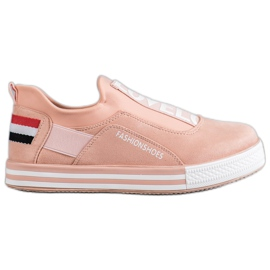 SHELOVET rosa Slip scarpe Lovelo
