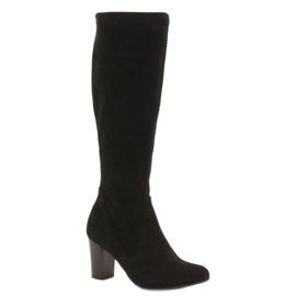 Stivali da donna elasticizzati Caprice nero