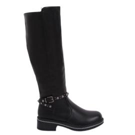 Stivali neri per donna nero 0-263 Nero