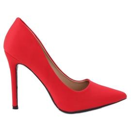 Pompe su un perno rosso 4014 Rosso