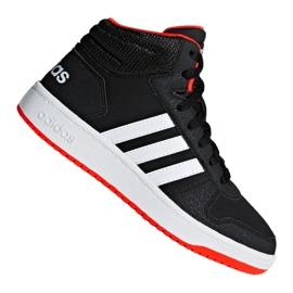 Nero Scarpe Adidas Hoops Mid 2.0 K Jr B75743