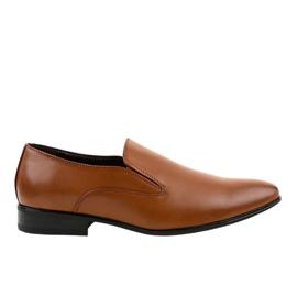 Mocassini eleganti marroni 6-317 marrone