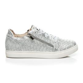 Vices grigio Sneaker argento alla moda