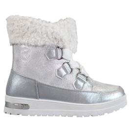 Caldi scarponi da neve di MCKEYLOR grigio