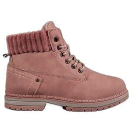 SHELOVET Trapper alla moda rosa