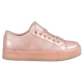 Scarpe da ginnastica rosa