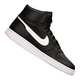 Scarpe Nike Ebernon Mid M AQ1773-002 nero