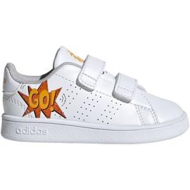 Scarpe Adidas Advantage I Jr EF0305 bianco