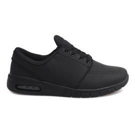 Nero 7765-1 Scarpe sportive da corsa nere
