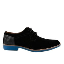Scarpe eleganti nere H-32 nero