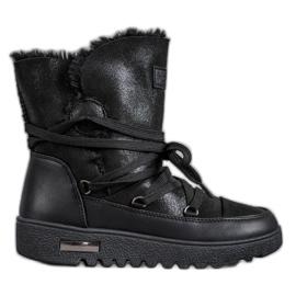 Stivali da neve con glitter MCKEYLOR nero