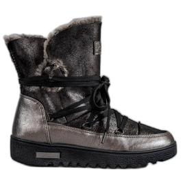 Stivali da neve con glitter MCKEYLOR grigio