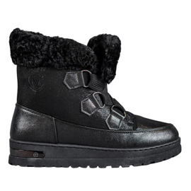 Caldi scarponi da neve di MCKEYLOR nero