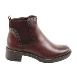 Stivaletti Jodhpur Boots Filippo 957 bordeaux