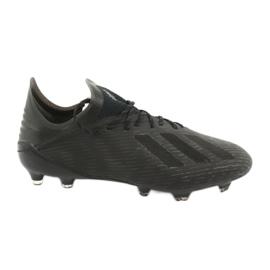 Scarpe da calcio adidas X 19.1 Fg M F35314 nero