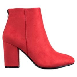 Stivali sexy VINCEZA rosso