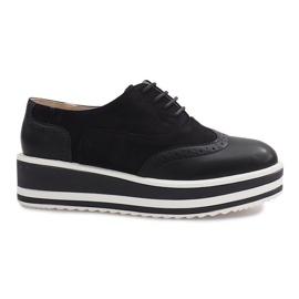 Scarpe stringate Paulette nere nero