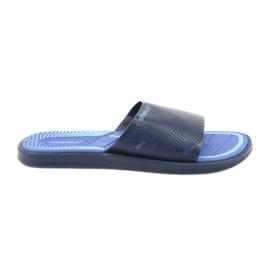 Pantofole da uomo per la piscina blu scuro di Atletico