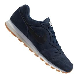 Scarpe Nike Md Runner 2 Suede M AQ9211-401 marina