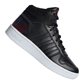Scarpe Adidas Hoops Mid 2.0 Jr EE8547 nero