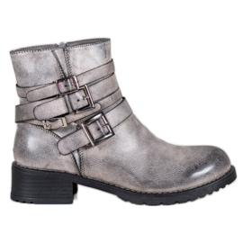SHELOVET Stivali grigi classici grigio