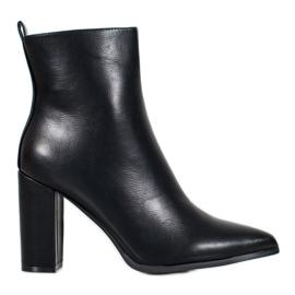 Seastar Stivali di pelle nero
