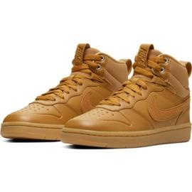 Scarpe Nike Court Borough Mid 2 Boot Jr BQ5440-700 marrone