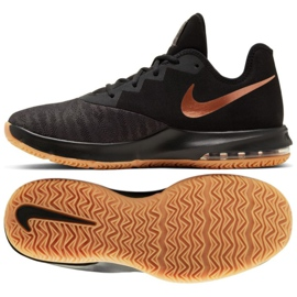Scarpe Nike Air Max Infuriate Iii Low M AJ5898-009 nero nero