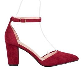 Eleganti pompe VINCEZA rosso