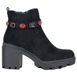 Seastar Stivali sulla piattaforma nero