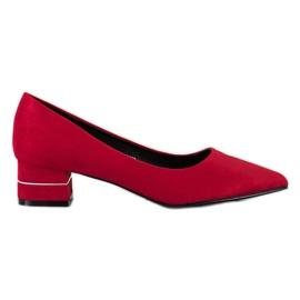 Goodin Pompe Con Cintura Decorativa rosso
