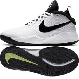 Scarpe Nike team Hustle D 9 (GS) Jr AQ4224-100 bianco bianco