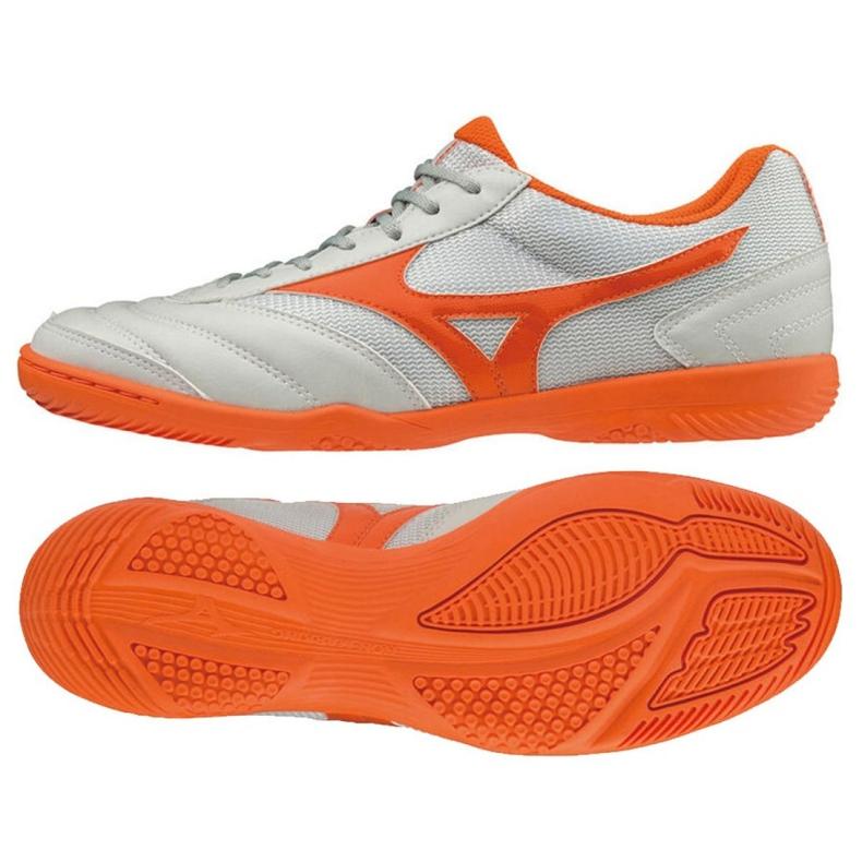Mizuno Morelia Sala Club In M Q1GA190354 scarpe indoor bianco bianco