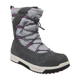 Stivali invernali Timberland Snow Stomper Pull On Wp Jr A1UJ7 grigio