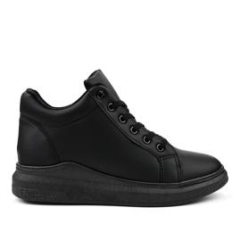 Sneakers nere isolate TL133-1 nero