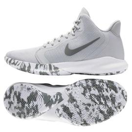 Scarpe Nike Precision Iii M AQ7495-004 grigio bianco