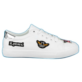 Seastar Sneakers Con Patch Army bianco