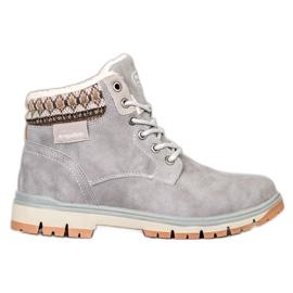 Arrigo Bello Sneaker allacciate grigio