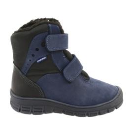 Stivali con una membrana Mazurek 1352 blu navy