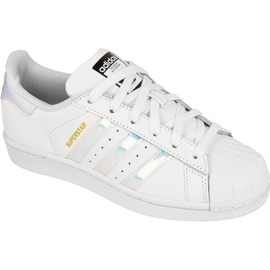 Scarpe Adidas Originals Superstar Jr AQ6278 bianco