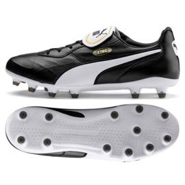 Scarpe da calcio Puma King Top Fg M 105607 01 nero nero