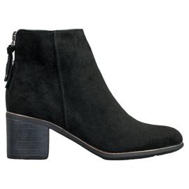 Goodin Stivali di camoscio nero