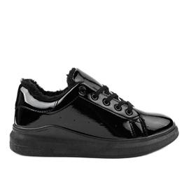 Sneakers nere isolate TL140-1 nero